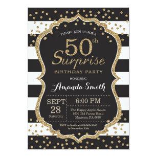 50th Birthday Invitations Announcements Zazzle Uk