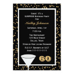 Surprise 60th Birthday Party Invitation