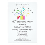 SURPRISE 60th or Any Age Birthday Party Invitation