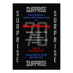 Surprise 70th Birthday Party Invitation - 70