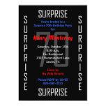 Surprise 70th Birthday Party Invitation - 70