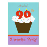 Surprise 90th Birthday Party Invitation