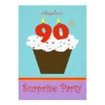 Surprise 90th Birthday Party Invitation 13 Cm X 18 Cm Invitation Card