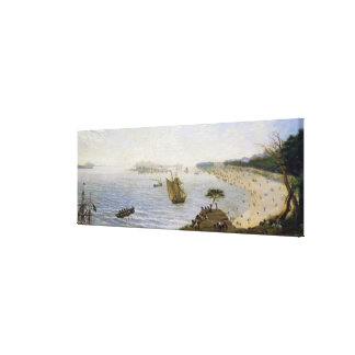 Surprise at the Front Line of the Army at Estero, Canvas Print