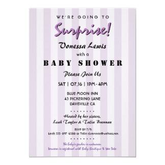 Surprise Baby Shower Gender Neutral Invitation