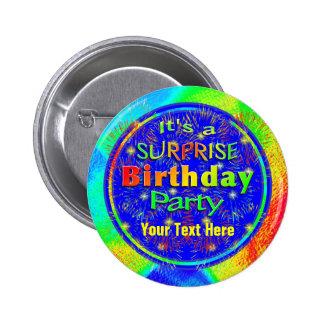 Surprise Birthday Button
