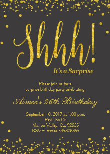 surprise 21st birthday invitations announcements zazzle uk