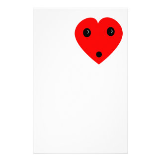 """Surprise Heart"" Stationery"