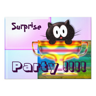 Surprise Party Card