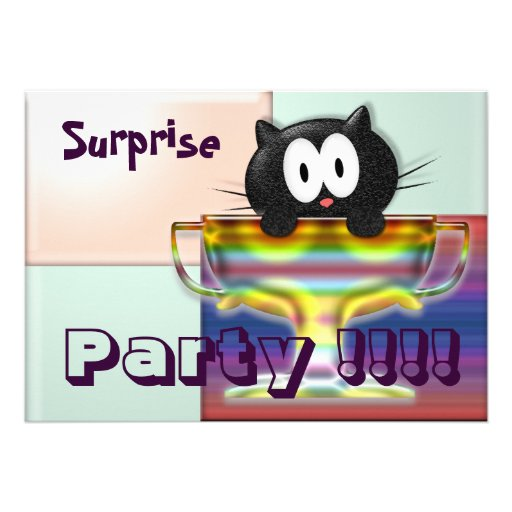 Surprise Party Personalized Invite