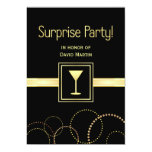 Surprise Party Invitations - Contemporary