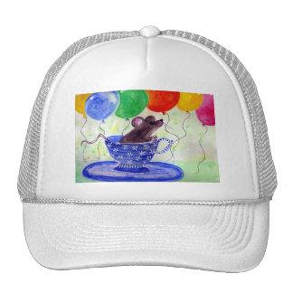 Surprise Tea Cup Mouse Trucker Hat