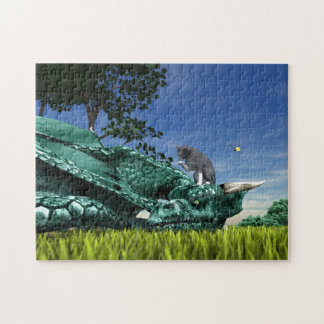 Surprise Visitor Jigsaw Puzzle