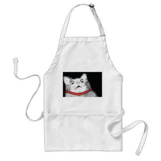 Surprised Cat Gasp Meme - Apron