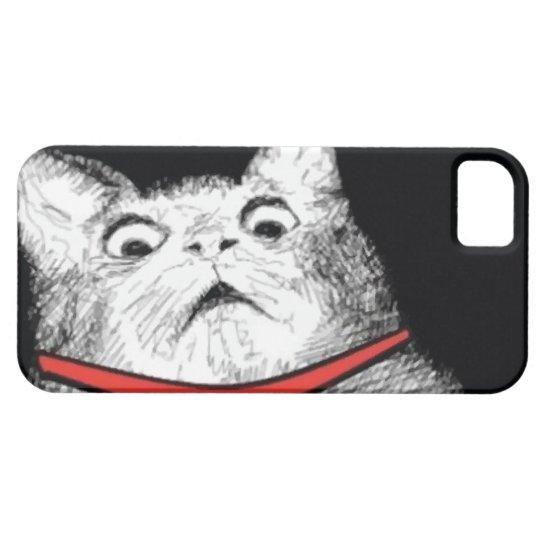 Surprised Cat Gasp Meme - iPhone 5 Case