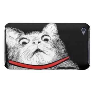 Surprised Cat Gasp Meme - iPod Touch 4 Case