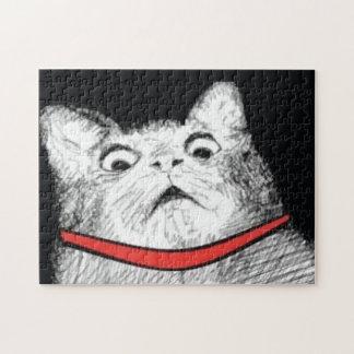 Surprised Cat Gasp Meme - Puzzle