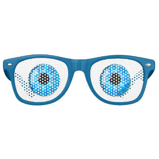 Surprised Eyes Retro Sunglasses