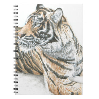 Surprised Tiger Watercolour Note Books