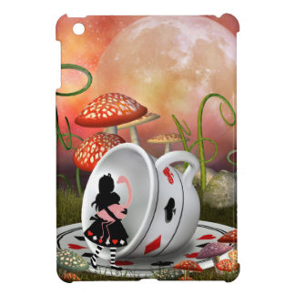 Surreal Alice, Flamingo & Teacup iPad Mini Covers