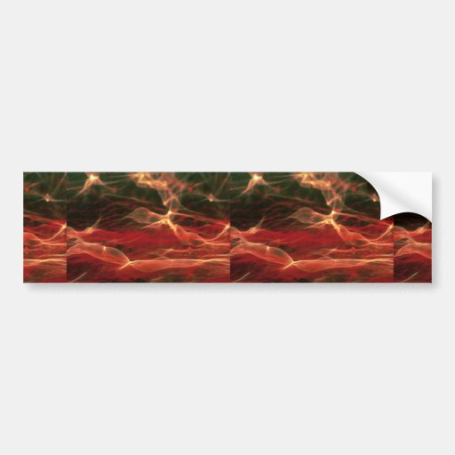 Surreal atmosphere bumper stickers
