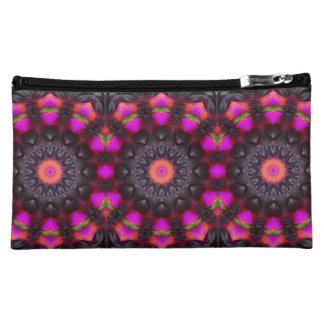 Surreal Blossoms, Flower Mandala Cosmetics Bags