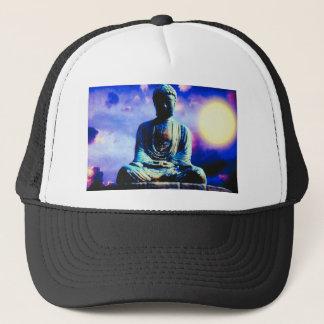 Surreal Buddha Trucker Hat