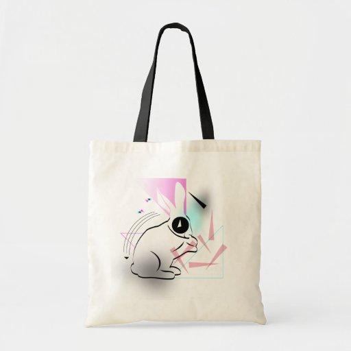 Surreal Bunny Tote Bag