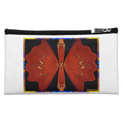surreal butterfly bag cosmetics bags