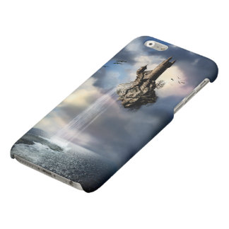 Surreal Castle Waterfall Matte iPhone 6 Case iPhone 6 Plus Case