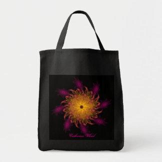 Surreal Catherine Wheel Tote Bag