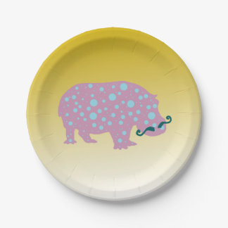 Surreal Cool Trendy  Custom Paper Plates 7 in