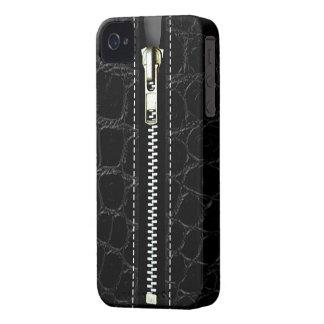 Surreal Crocodile Zip It Up hard plastic zipper iPhone 4 Covers