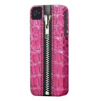Surreal Crocodile Zip It Up hard plastic zipper Case-Mate iPhone 4 Case