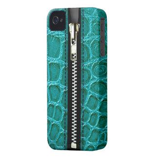 Surreal Crocodile Zip It Up hard plastic zipper Case-Mate iPhone 4 Cases
