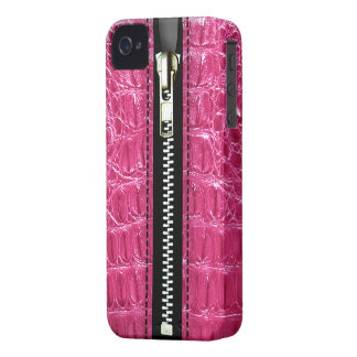 Surreal Crocodile Zip It Up hard plastic zipper iPhone 4 Case-Mate Case