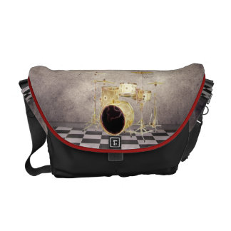 Surreal Drums Music Rickshaw Messenger bag
