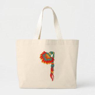 Surreal Flower Tote Bag