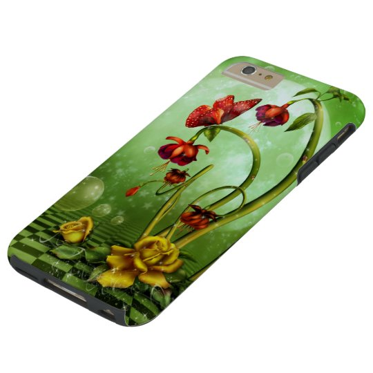 Surreal Flower Fantasy Tough iPhone 6 Plus Case