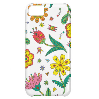 Surreal Flowers iphone Cover For iPhone 5C