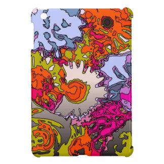 Surreal Flowers,orange iPad Mini Cover