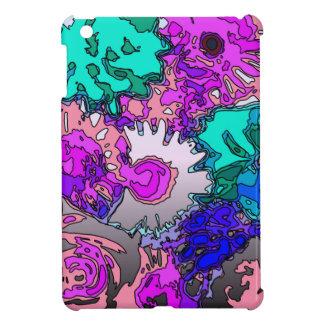 Surreal Flowers,pink iPad Mini Cover