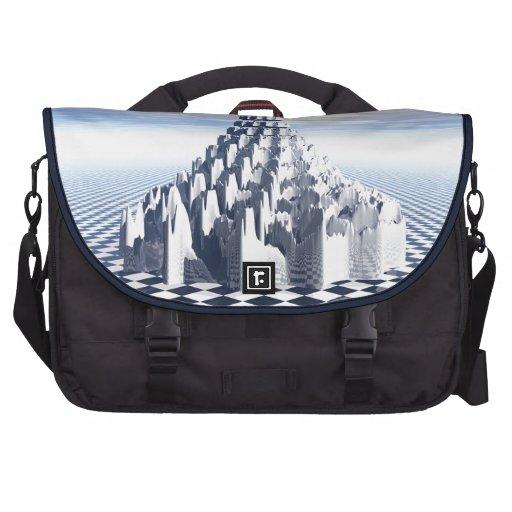 Surreal Fractal Tower Computer Bag