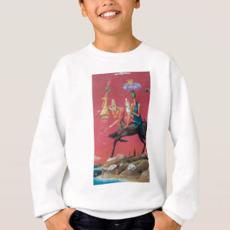 Surreal graffiti sweatshirt