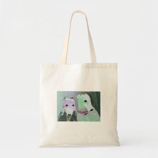 Surreal Greyhounds Masterpiece Tote Budget Tote Bag