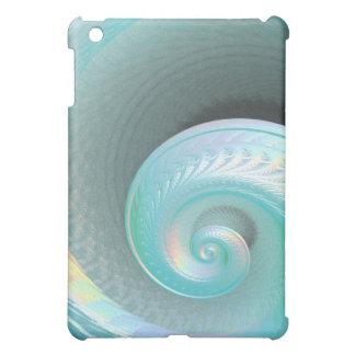 Surreal Jade Rainbow Shell iPad Mini Covers