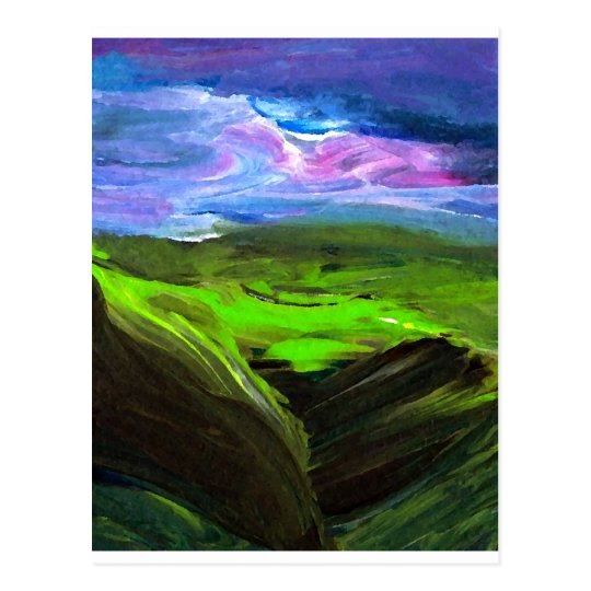 Surreal Landscape CricketDiane Art Products Postcard