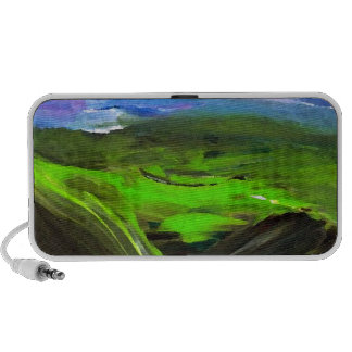 Surreal Landscape CricketDiane Art Products Mp3 Speakers