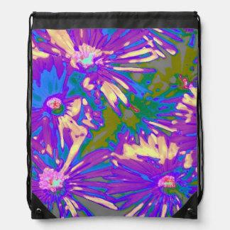 Surreal lavender Flowers (I) Backpack
