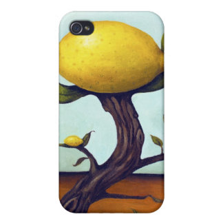 Surreal Lemon Tree Cases For iPhone 4